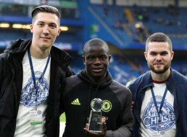 Predstavnici Chelsea Croatia uručili nagradu N'Golo Kanteu!
