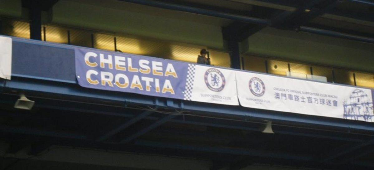 Udruga Chelsea Croatia dobila TRAJAN TRANSPARENT na tribinama Stamford Bridgea!