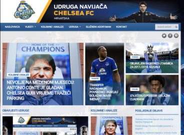 Portal Udruge Chelsea Croatia ponovno u pogonu!