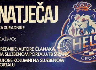 Chelsea Croatia traži suradnike na web portalu!