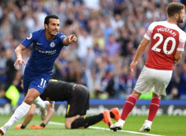 Chelsea FC 2-2 Arsenal FC (Poluvrijeme)