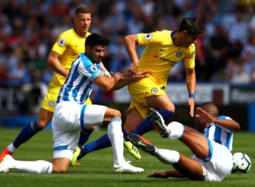 Huddersfield Town FC 0-2 Chelsea FC (Poluvrijeme)