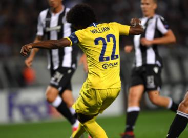 PAOK FC 0-1 Chelsea FC (Poluvrijeme)