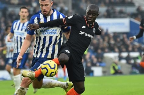 Brighton & Hove Albion FC 1-1 Chelsea FC | KRAJ