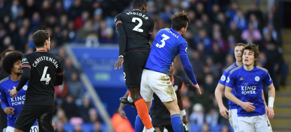 Leicester City FC 2-2 Chelsea FC   KRAJ