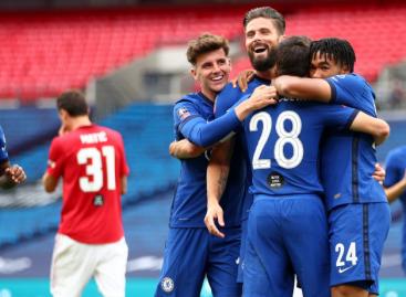 Chelsea FC 3-1 Manchester United FC | KRAJ