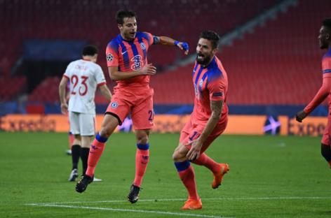 Sevilla F.C. 0-4 Chelsea FC   KRAJ